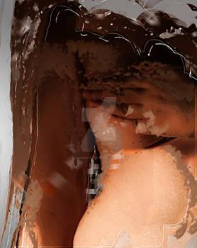Abstract Nude Digital Edit