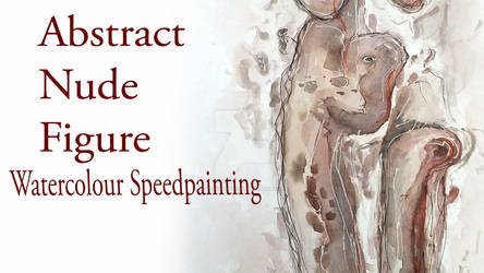 Abstract Nude Figure Speed Painting