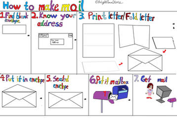 How To Make Mail by BrightPeaceStars