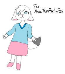 For AnnaTheArcticFox by BrightPeaceStars
