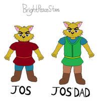 Jos and Jos dad