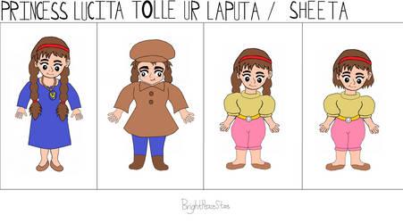 Princess Lucita Toelle Ur Laputa or Sheeta