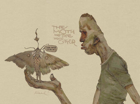 The Moth and the woodcutter
