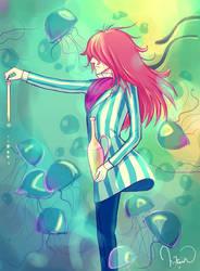 Ponyo: Fujimoto by megatruh