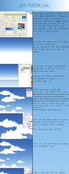 sky + clouds tutorial by megatruh