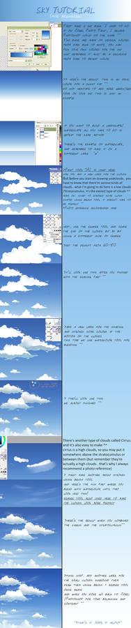 sky + clouds tutorial