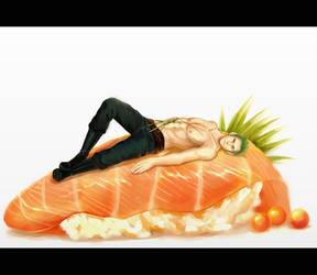 sushi, by megatruh