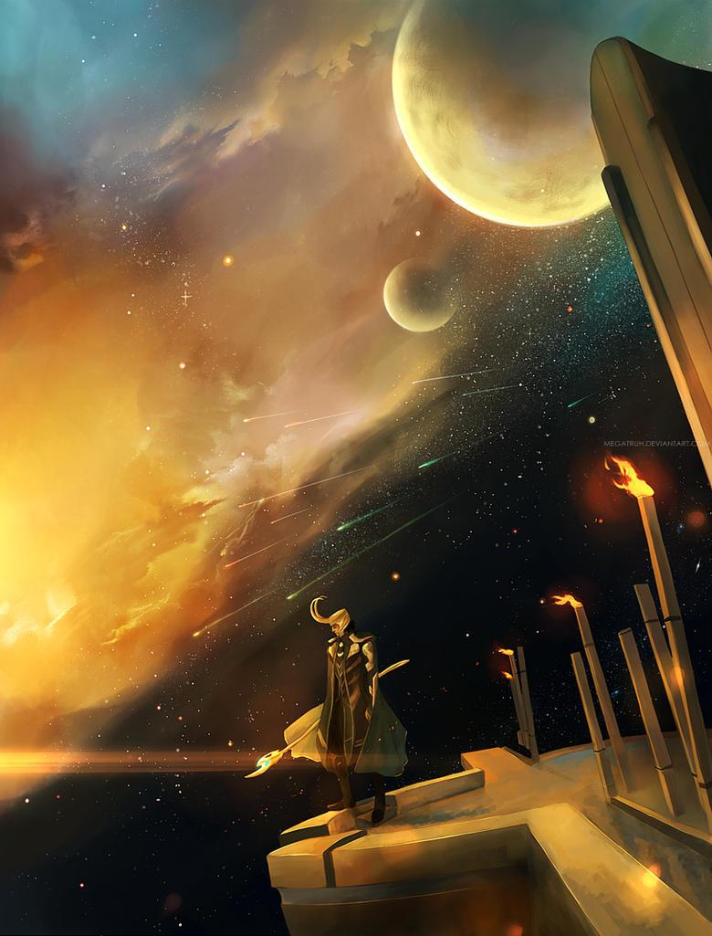 in Asgard . by megatruh