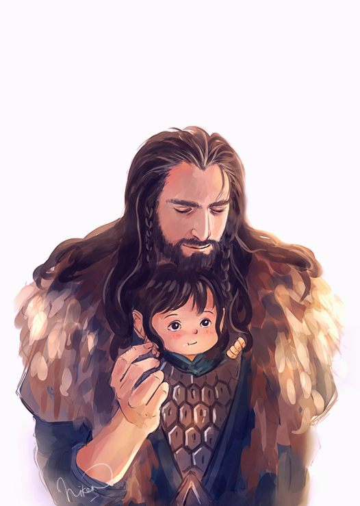 uncle Thorin , by megatruh