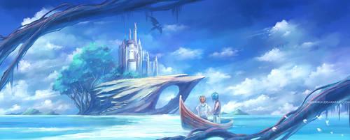 Puff's island . by megatruh