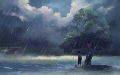 John and maus : storm. by megatruh