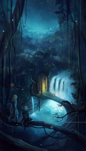 the elvenking's gate .