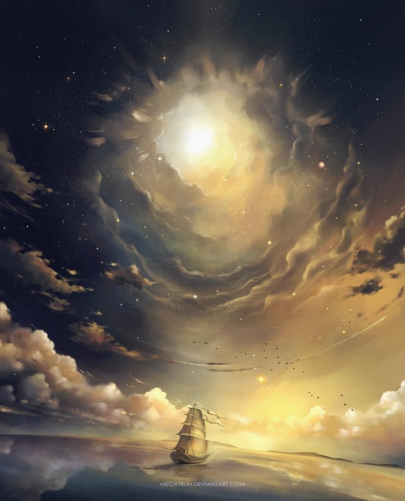 ascension by megatruh
