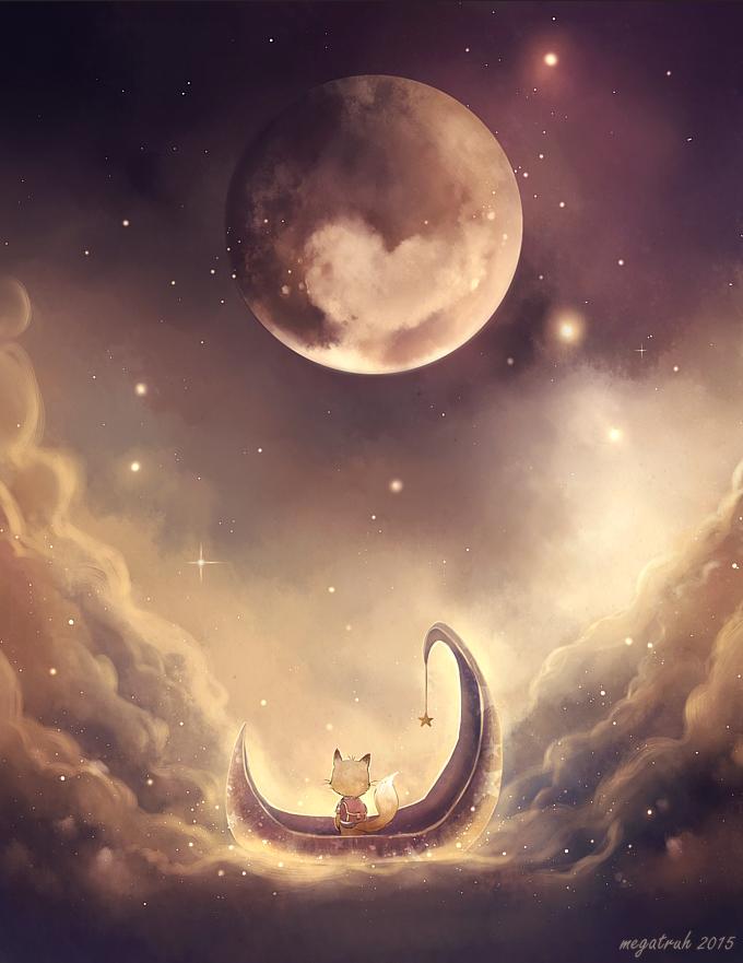 little Pluto by megatruh