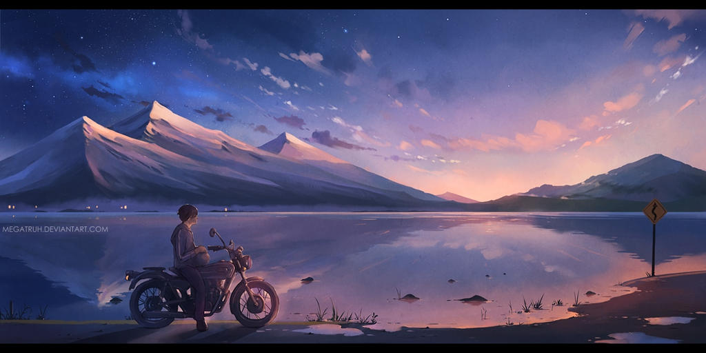 at soundless dawn by megatruh