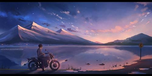 at soundless dawn