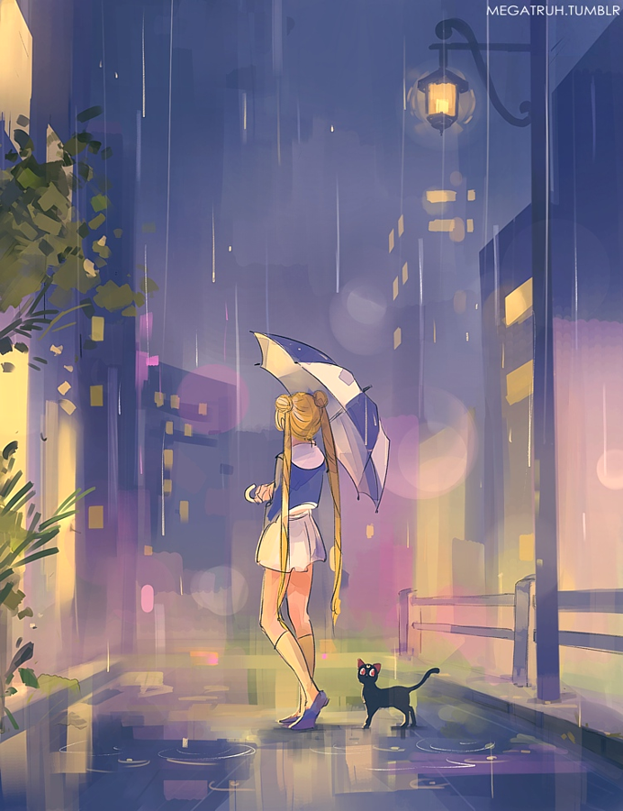 umbrella usagi by megatruh
