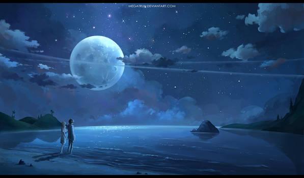 les amoureux de la lune
