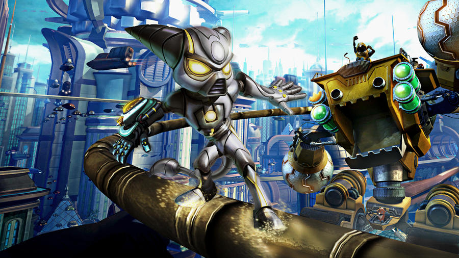Wallpaper Ratchet And Clank By Lombax13 On DeviantArt