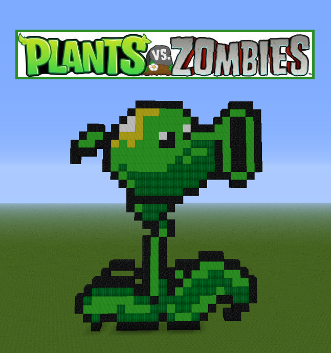 Pixel Art Peashooter By Cheesedoctor22 On Deviantart