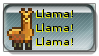 Llama stamp by angel-chickxx