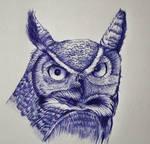 Owl ballpoint pen