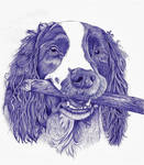 Dog ballpoint pen 4