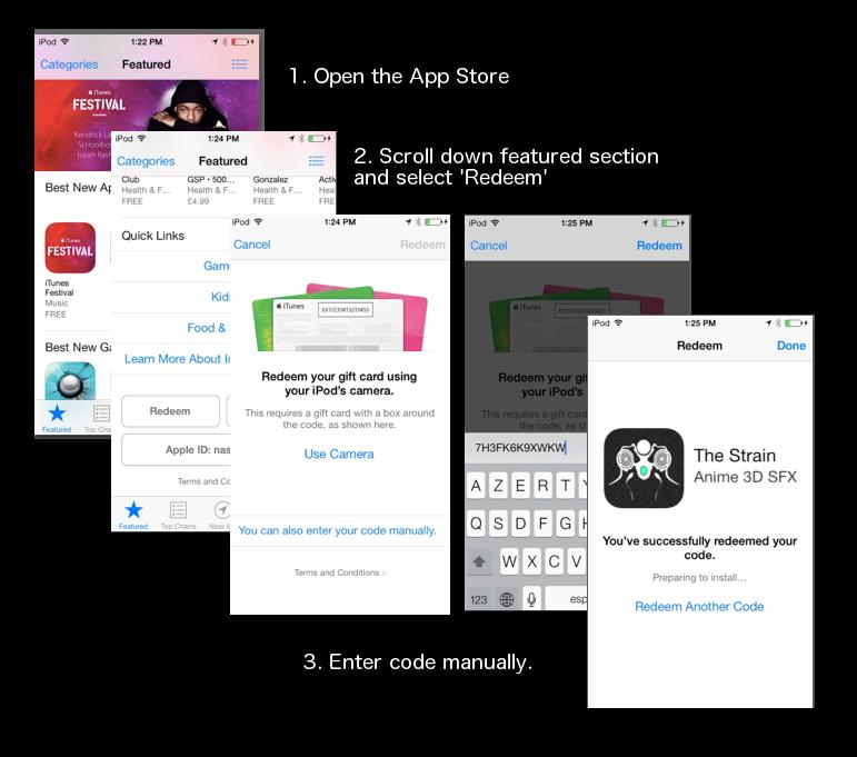 how to redeem promo codes on apple app store by eelstork on deviantart. Black Bedroom Furniture Sets. Home Design Ideas