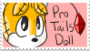Pro Tails Doll Stamp by GirGrunny
