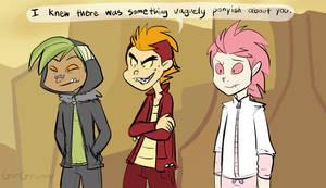 My Life as a Teenage Dragon by GirGrunny