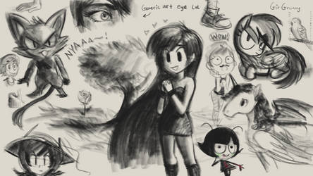 Sketchies by GirGrunny