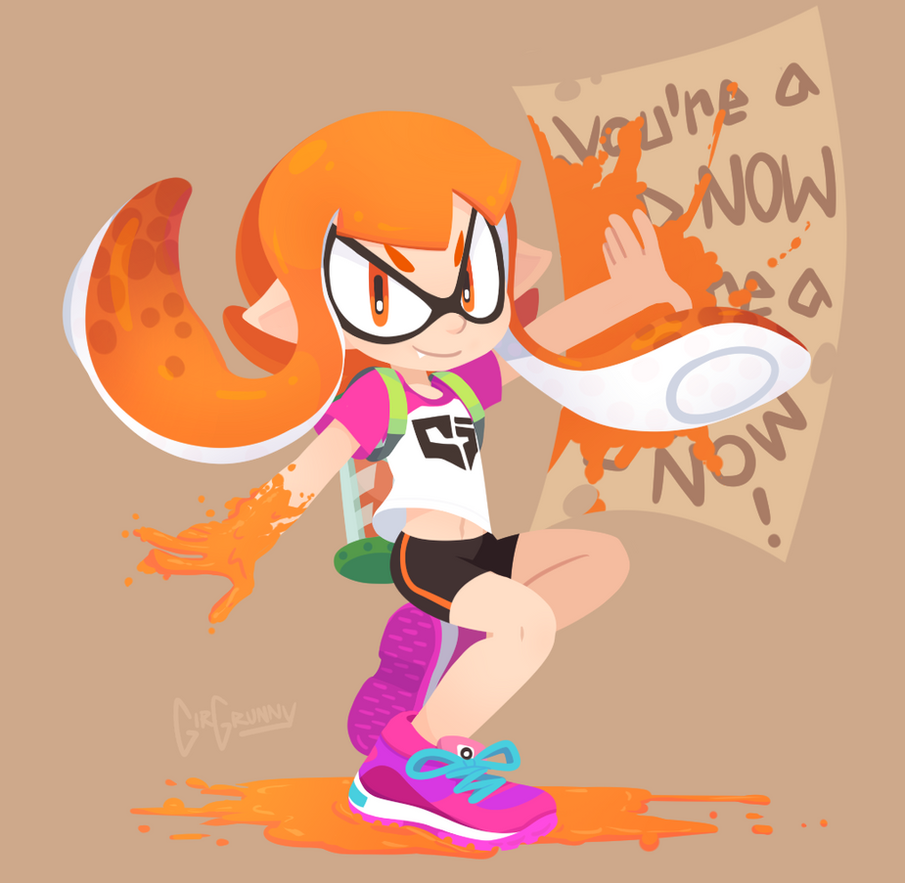 Squid Kid by GirGrunny