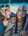 Fingolfin and his Son Argon