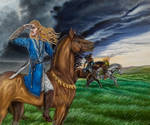 Aegnor with Fingon and Angrod