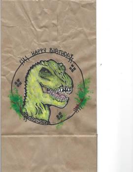 Dino Birthday Design