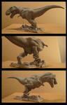 TRex sculpture TA 2