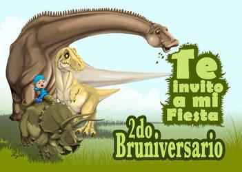 DinoParty by yerduf