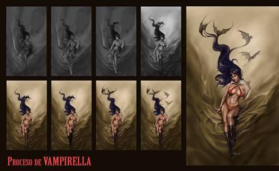 Vampirella Process by yerduf