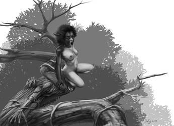 FaunaSutra - The Monkey by yerduf