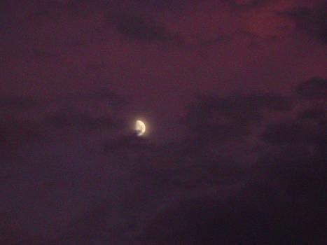 Moon peek-a-boo