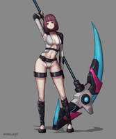Mecha Girl by onysaputra