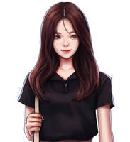 Kim Jisoo by onysaputra