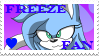 GIFT Freeze Fan Stamp by BlueSliver-Star