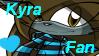 :G: SuperKyraWolf -STAMP- by BlueSliver-Star