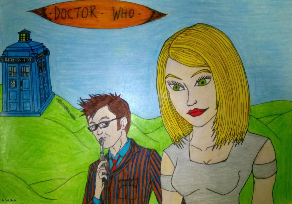 Doctor X Rose By 4M1R On DeviantArt