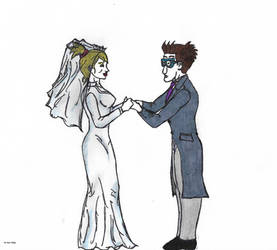 Wedding of Penny Gadget and Looney Purkle by 4M1R