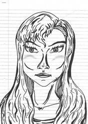 Portrait - 3 - Line by 4M1R