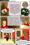 Comic: Actual suspicions, Actually happened