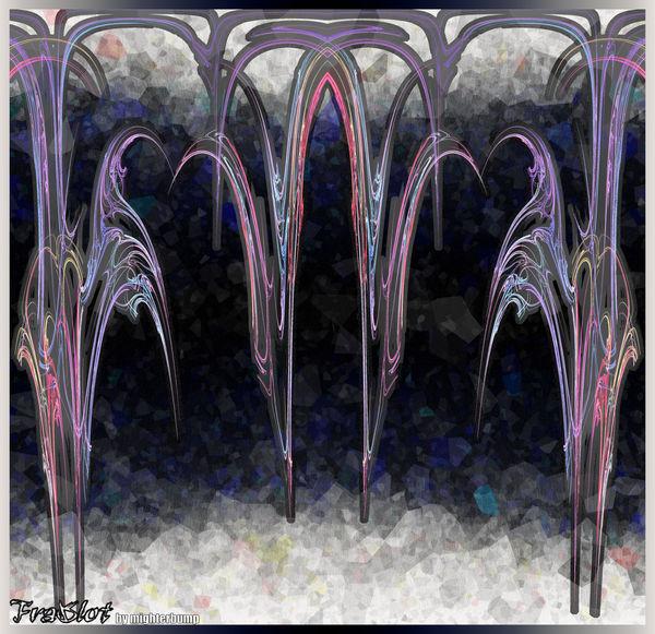 Frakblot-stalactite