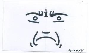 CardSmilies Grumpy
